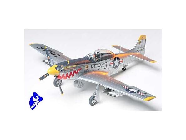 tamiya maquette avion 61044 F-51D Mustang Korean War 1/48