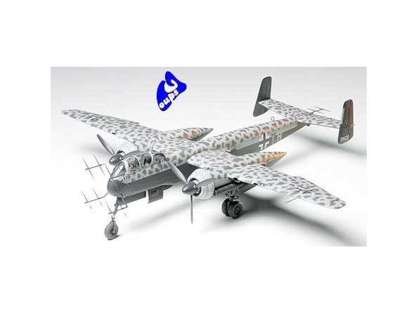 tamiya maquette avion 61057 Heinkel He219 Uhu 1/48