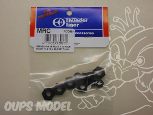 hexagones de roue plastique THUNDER TIGER PD0984