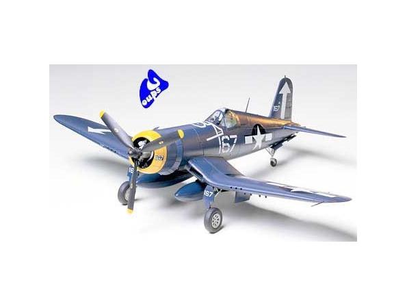 tamiya maquette avion 61061 Vought F4U-1D Corsair 1/48