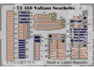 Eduard photodecoupe avion 73450 Harnais Valiant 1/72