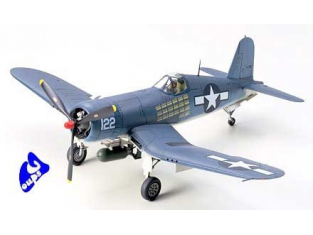 tamiya maquette avion 61070 Vought F4U-1A Corsair 1/48