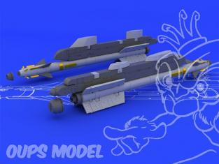 Eduard kit d'amelioration brassin 648071 Archer R-73/AA-11 1/48