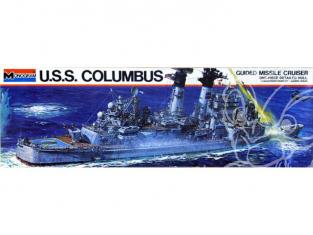 Monogram maquette bateau 3003 USS Columbus 1/506