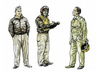 CMK figurine 72110 PILOTES USAF COREE 1/72