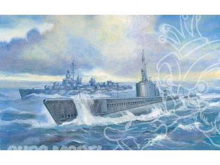 """AFV maquette bateau se73510 SOUS-MARIN US CLASSE """"GATO"""" 1942 1/350"""