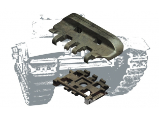 afv club maquette 35183 CHENILLES B.T.S. 3 heavy Built Up pour CHURCHILL Tanks 1/35