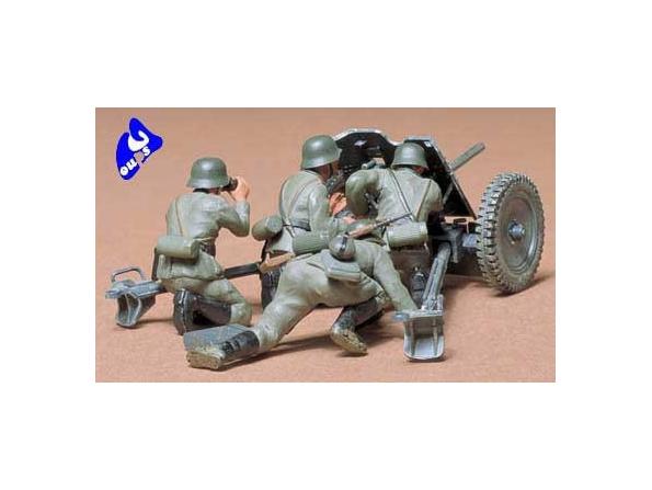 tamiya maquette militaire 35035 Ger. 37mm Anti-tank Gun 1/35