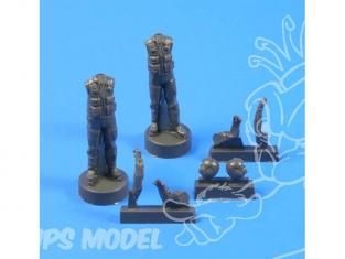 CMK figurine f35202 PILOTES pour HELICOPTERE AH-1 COBRA après 1980 1/35