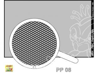Aber PP08 plaque gravée (88 x 57mm) - pattern 08