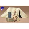 tamiya maquette militaire 35074 Tente Allemande 1/35