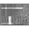 Proxxon outillage 29030 Fraise a gorge 6,4mm