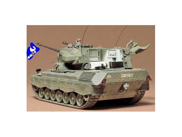 tamiya maquette militaire 35099 West German Flkpnzr Gepard 1/35