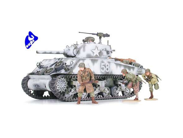 tamiya maquette militaire 35251 M4A3 Sherman 105mm Howitzer 1/35