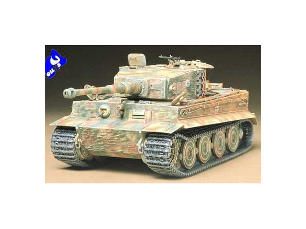 tamiya maquette militaire 35146 German Heavy Tiger I Late Ver 1/