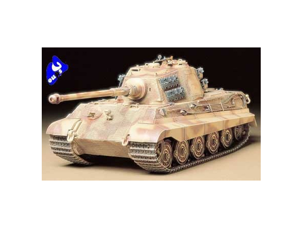 """tamiya maquette militaire 35164 King Tiger """"Production Turret"""" 1"""