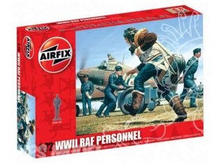 Airfix figurine aviation 0747 Personnel RAF 1/72