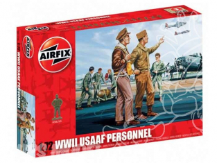 Airfix figurine aviation 0748 Personnel USAAF 1/72