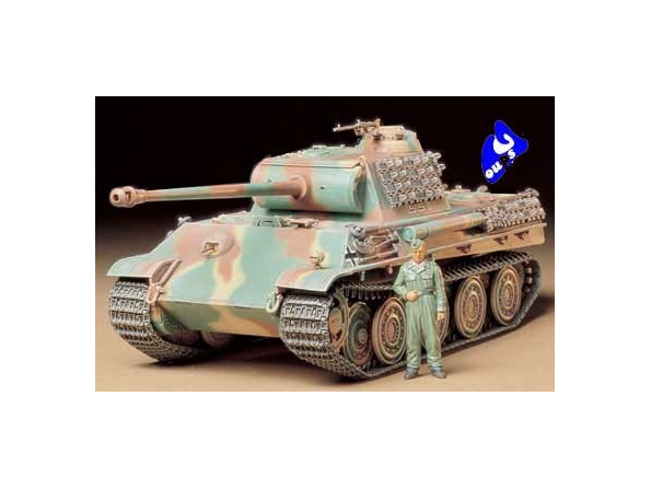 tamiya maquette militaire 35174 Panther Type G Steel Wheel 1/35