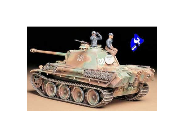 tamiya maquette militaire 35176 Panther Type G Late Version 1/35