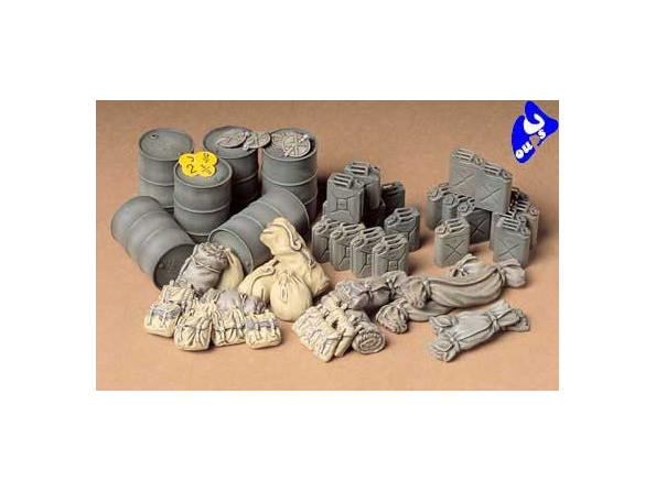 tamiya maquette militaire 35229 Allied Vehicles Accessory Set