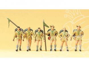 Preiser 10260 scouts HO