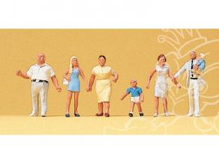 Preiser 10284 Famille en promenade HO