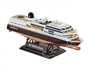 Revell maquette bateau 05817 MS Midnatsol 1/1200