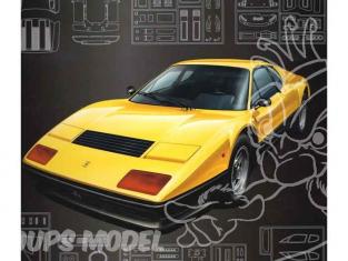 Fujimi maquette voiture 101729 Ferrari 512BB 1/16