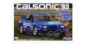 FUJIMI maquette voiture 062600 Nissan Skyline GT-R R32 Calsonic 1/24