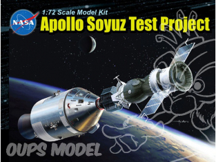 Dragon espace 11012 Apollo Soyuz Test Project 1/72