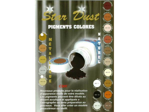CMK sd11 pigment blanc