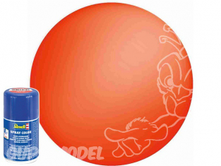 Revell 34125 Bombe acrylique Orange fluo mat