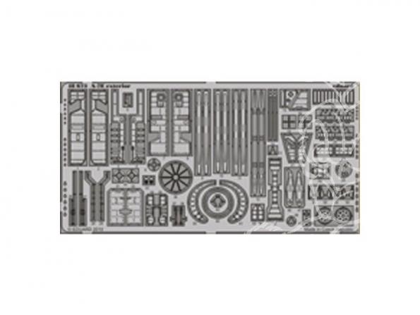 EDUARD photodecoupe 48673 Exterieur A-7E 1/48
