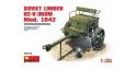 MINI ART maquette militaire 35115 CAISSON D'ARTILLERIE SOVIETIQUE 52-R-353M 1/35