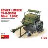 MINI ART maquette militaire 35115 CAISSON D&39ARTILLERIE SOVIETIQUE 52-R-353M 1/35