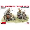 MINI ART maquette militaire 35101 EQUIPE DE MECANICIENS MOTOCYCLISTES US ARMY 1/35
