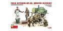 MINI ART maquette militaire 35098 CUISINE DE CAMPAGNE SOVIETIQUE KP-42 1/35