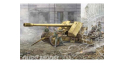 Trumpeter maquette militaire 02317 CANON ANTI CHARS ALLEMAND 128mm PaK44 1/35