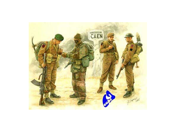 Master box maquette militaire 3512 troupes britaniques caen 44 1/35