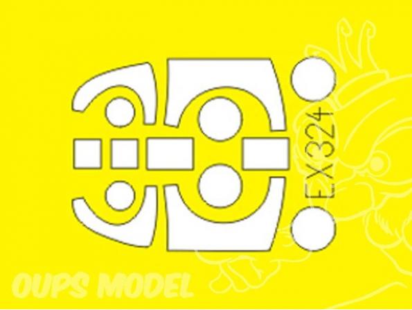 Eduard Express Mask ex324 Rf-5E 1/48
