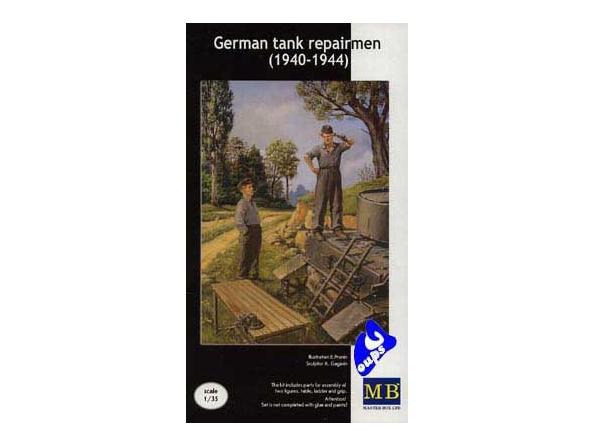 Master box maquette militaire 3509 atelier réparation allemand 1/35