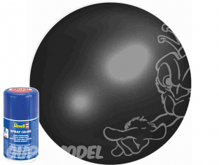 Revell 34302 Bombe acrylique Noir satiné