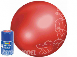 Revell 34330 Bombe acrylique Rouge vif satiné