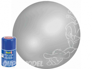 Revell 34371 Bombe acrylique Gris clair satiné