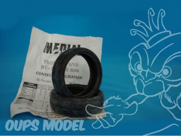 pneus avec mousse 1/10eme TOURING 21mm MEDIAL PRO