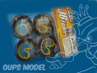 insert mousse NOIRE SOFT 1/10eme TOURING 26mm JB13 HPI / TAMIYA JB FOAM TEAM ORION
