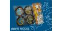 insert mousse NOIRE SOFT 1/10eme TOURING 26mm JB13 HPI / TAMIYA JB FOAM TEAM ORION