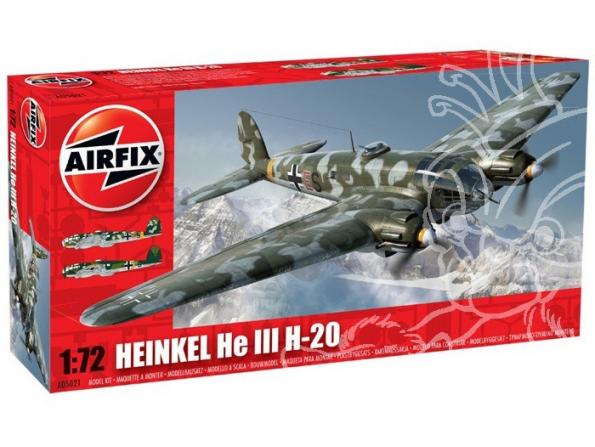 Airfix maquette Avion 05021 Heinkel He-III H-20 1/72