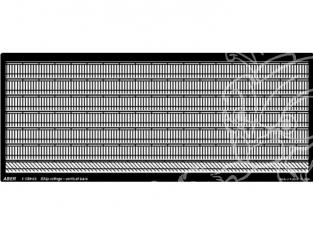 Aber S1150-03 Balustrades verticales 1/150